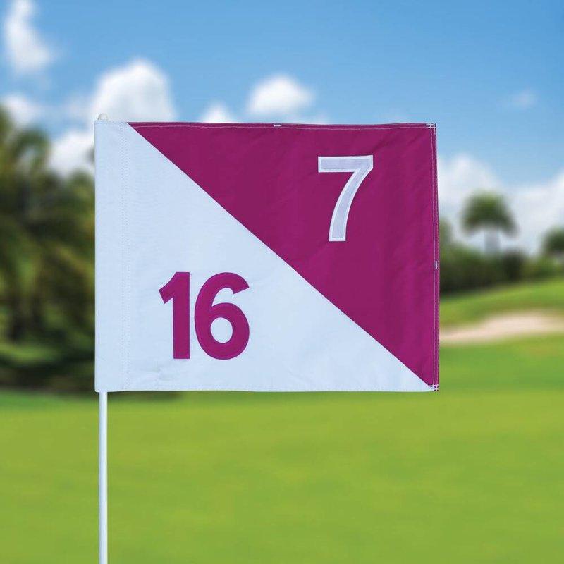 GolfFlags Golffahnen, semaphore, nummeriert