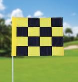 Golffahne, karriert