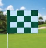 Golf flag, checkered