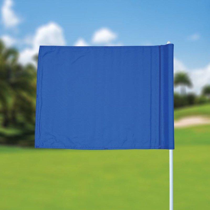 Golffahne, uni, blau