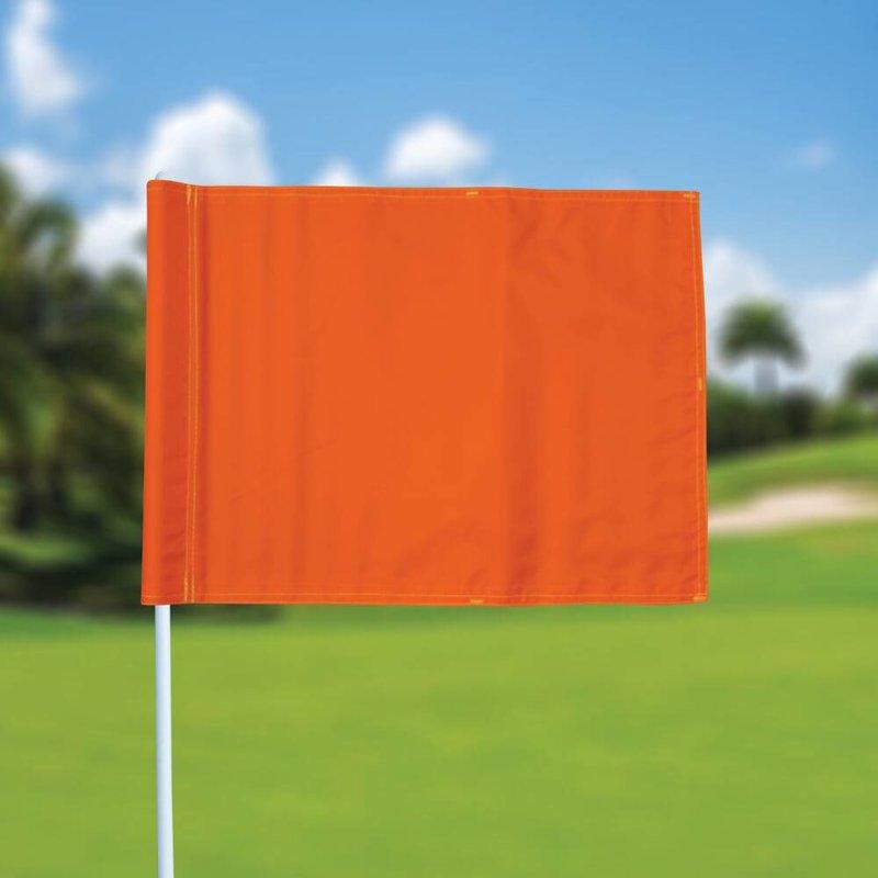 Golffahne, uni, orange