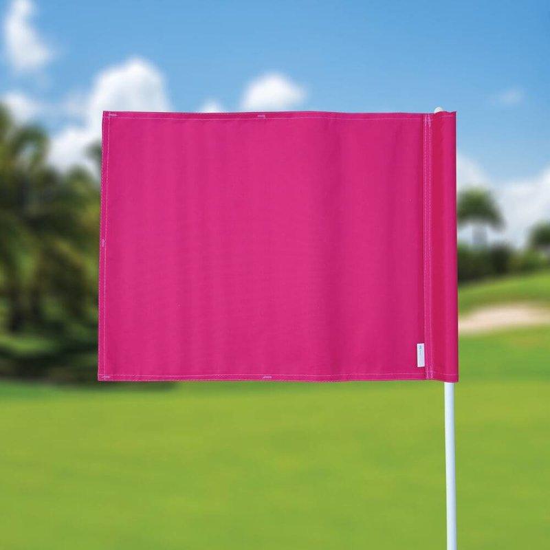 GolfFlags Golfvlag, effen, roze