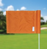 GolfFlags Putting Green Fahne, uni, orange