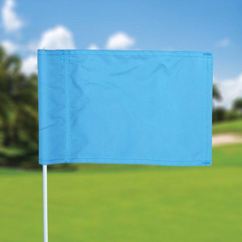 GolfFlags Putting Green Fahne, uni, hellblau
