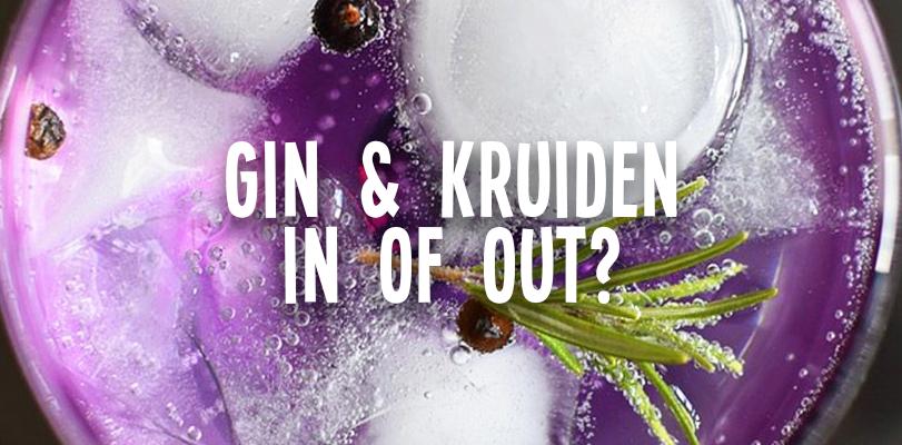 Kruiden in of uit de gin