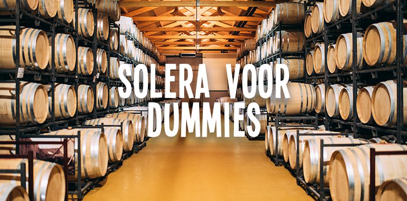 Solera voor dummies