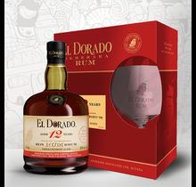 El Dorado 12Y + 1 Glas