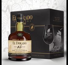 El Dorado 15Y + 2 Glazen