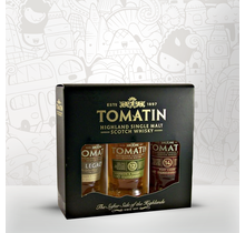 Tomatin Whisky Samples Tri-Pack 3x5cl