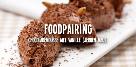 Chocolademousse met vanillesaus