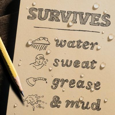 """Rite in the Rain Rite in the Rain notebook 4 5/8"""" x 7"""" zand, 3 stuks, 971TFX"""