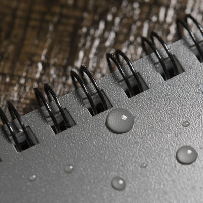 Rite in the Rain 3 x 5 Top Spiral Notebook 835 Gray Grijs