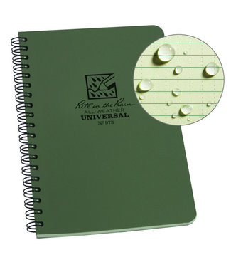 Rite in the Rain Side Spiral Notebook  Groen 973