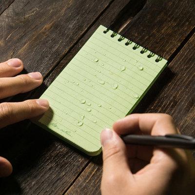 Rite in the Rain 3 x 5 Top Spiral Notebook 935 Green