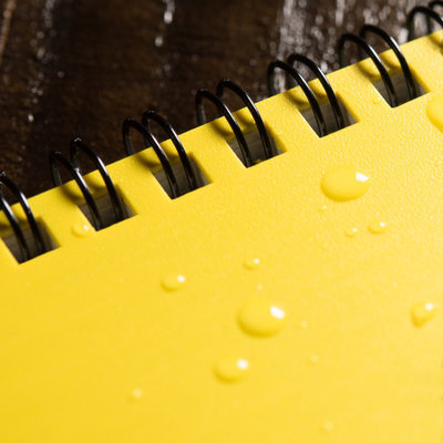 Rite in the Rain 3 x 5 Top Spiral Notebook 135 Yellow