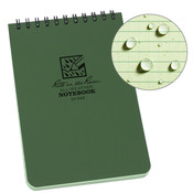 Rite in the Rain 4 x 6 Top Spiral Notebook 946 Green