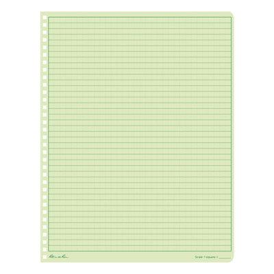 "Rite in the Rain Maxi Side-Spiral Notebook, 8.5"" x 11"", Green Cover (973-MX)"