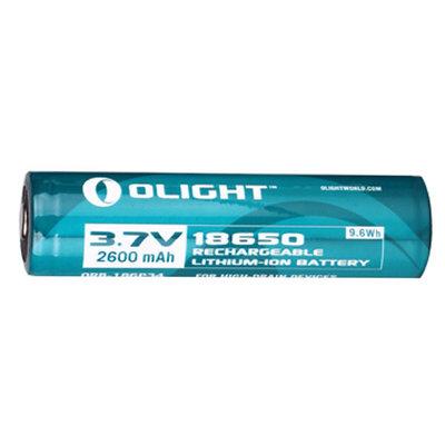 Olight 18650 2600mAh 3.7v 9.6Wh