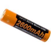 Fenix ARB-L18-2600 18650 accu, 2600 mAh
