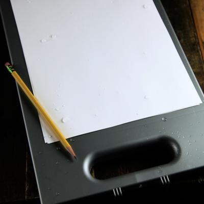 Rite in the Rain Weatherproof Field Desk Gray Shell (No. 295)