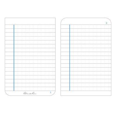 Rite in the Rain 3.25 X 5 LAW ENFORCEMENT NOTEBOOK - Thin Blue Line (1023)