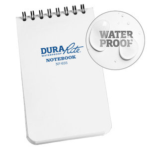 Rite in the Rain DURARITE 3X5 NOTEBOOK - WHITE (635)
