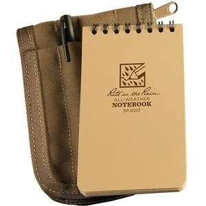 Rite in the Rain 3 x 5 Kit Tan Book/Tan Cover/ Black Pen (935T-KIT)