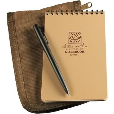 Rite in the Rain 4 x 6 Kit Tan Book/Tan Cover/ Black Pen (946T-KIT)
