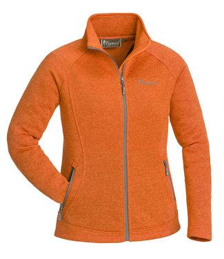 Pinewood Fleece vest Gabriella Oranje (dames)