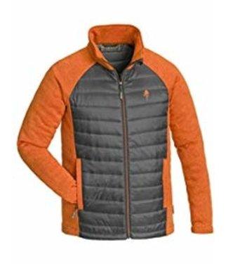Pinewood Gabriel padded vest zwart / oranje (heren)