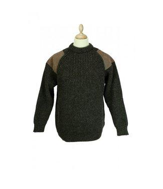 Mongo Mongo Leather Trim trui (heren)