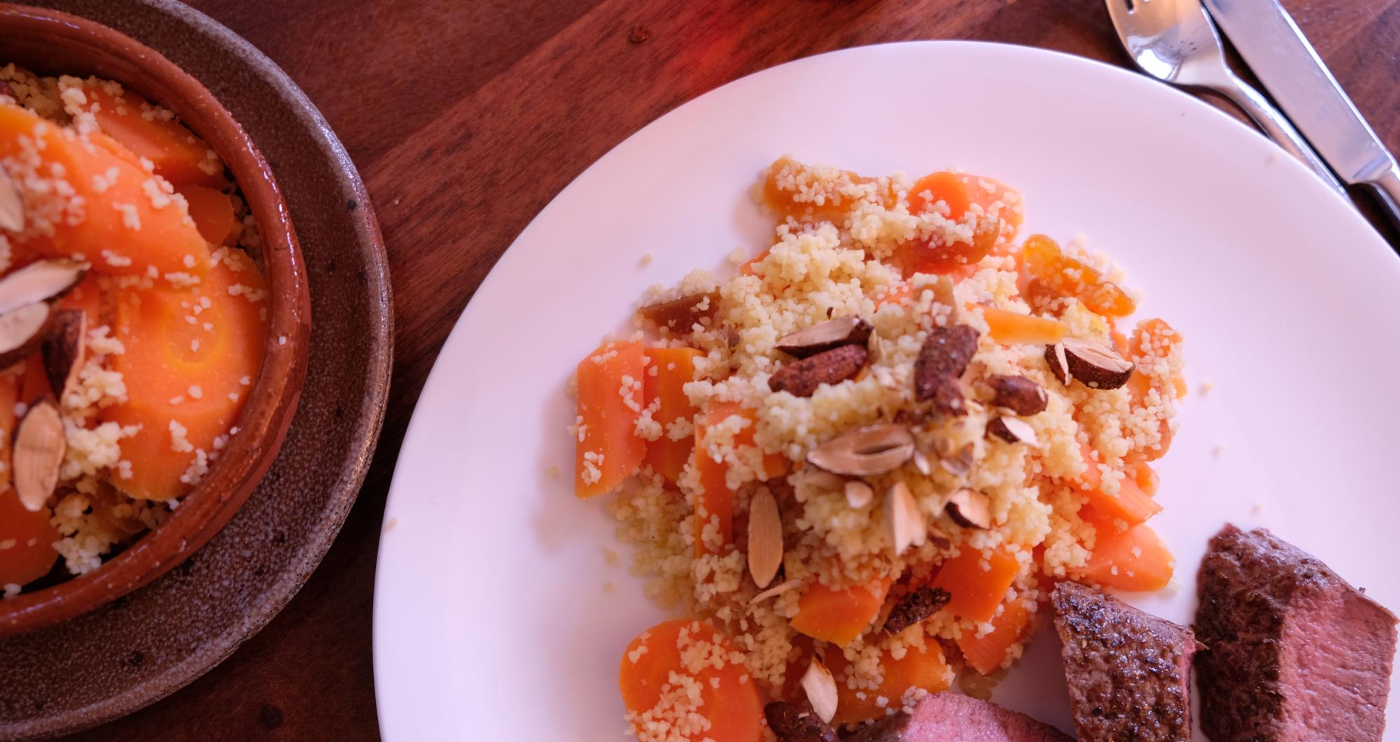 Couscous-Möhren