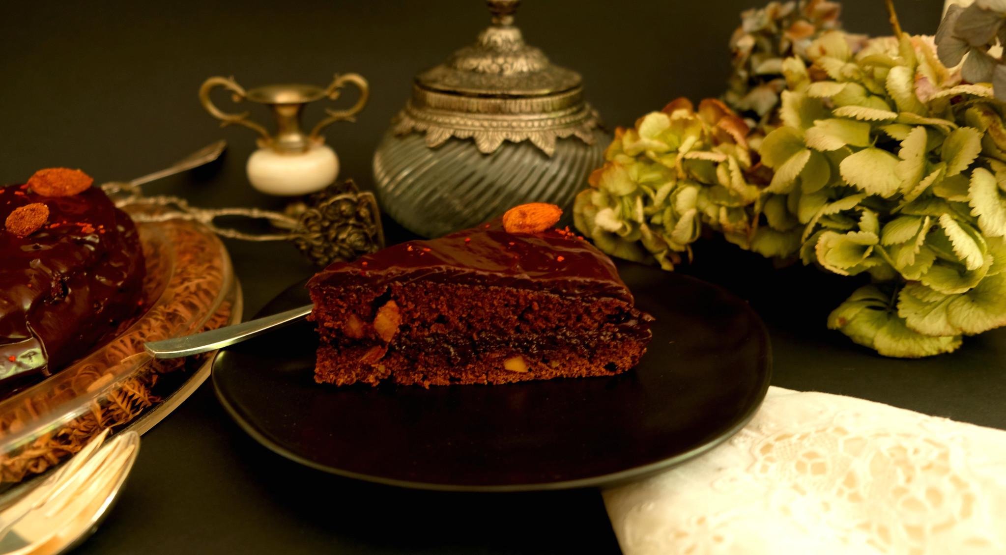 Schokoladentorte mit Chili