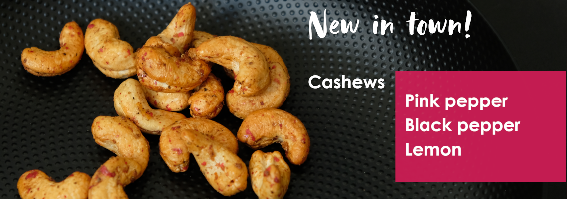Cashews Pink Pepper