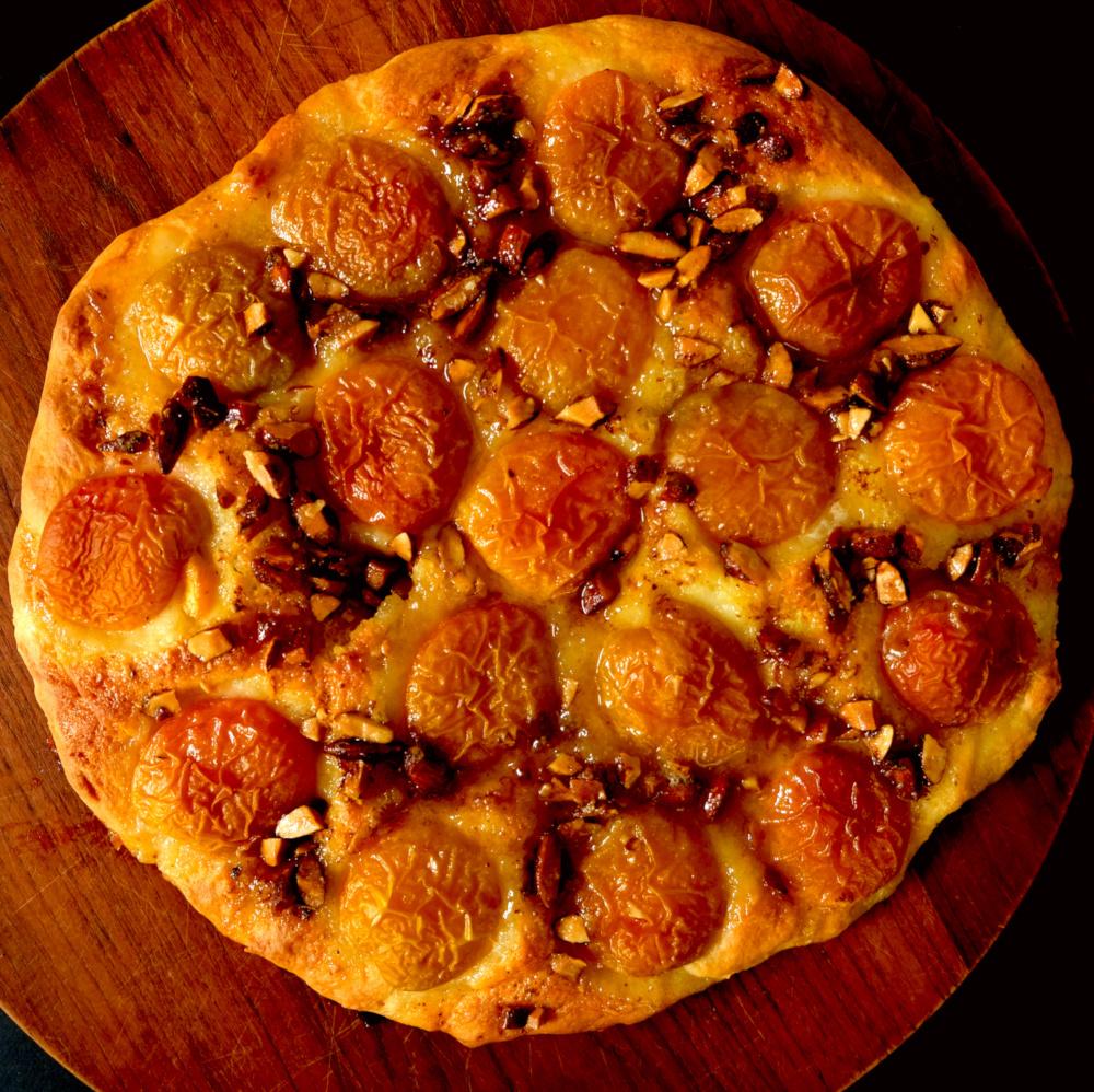 NuZz Aprikosen-Mandel-Kuchen