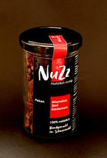 NuZz Pekan mit leicht karamellisiertem Ahornsirup, Zimt und Kardamom