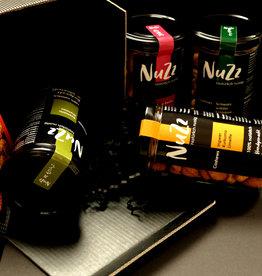 NuZz Geschenkbox mit vier Sorten NuZz