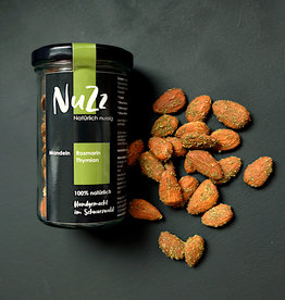 NuZz Almonds  Thyme & Rosemary