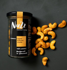 NuZz Cashews Ginger, Turmeric & Lime