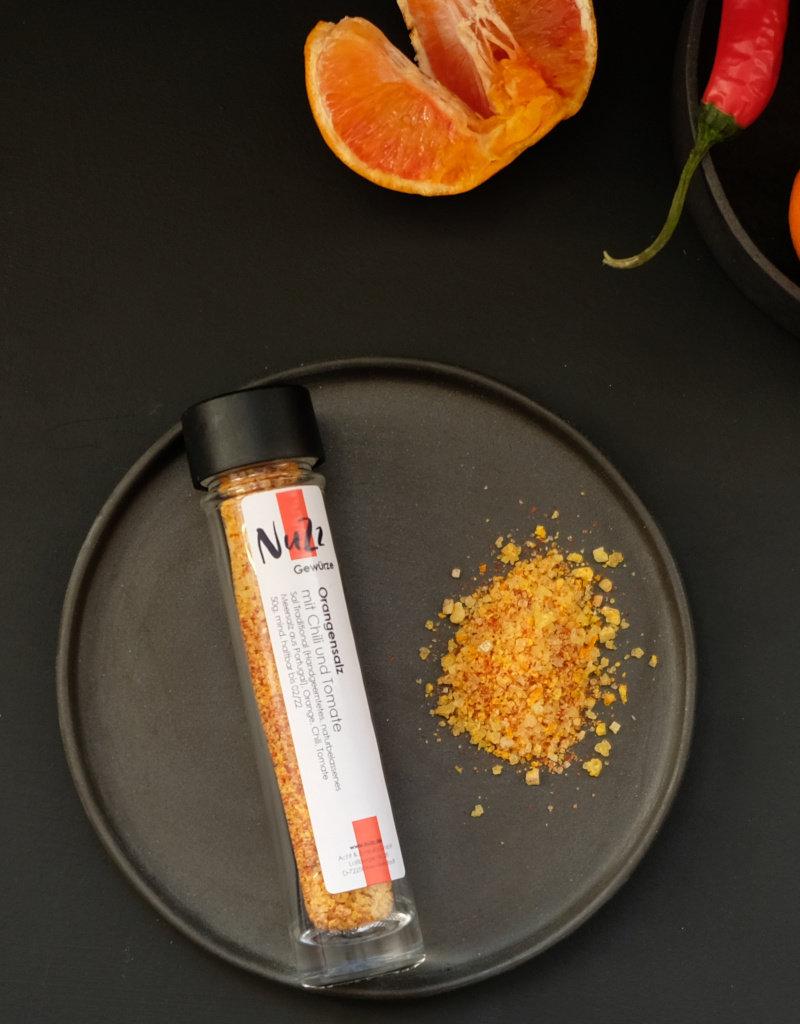 NuZz Orangensalz mit Chili und Tomate