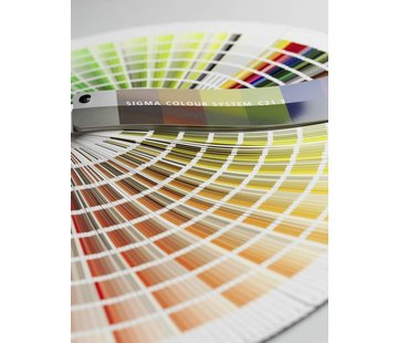 Sigma Colour System C21.3 NCS Waaier