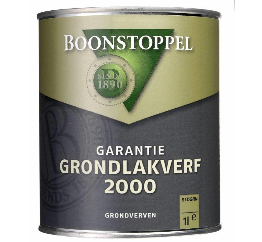 Garantie Grondlakverf 2000