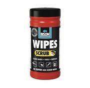 Bison Wipes Scrub (40st)