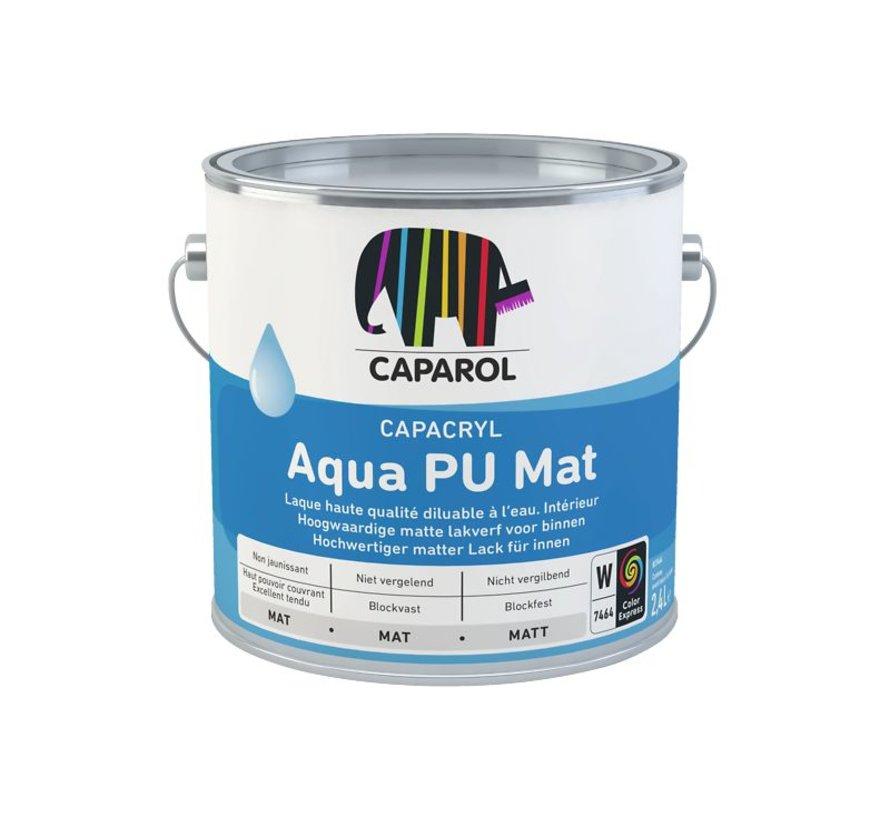 Capacryl Aqua PU Mat