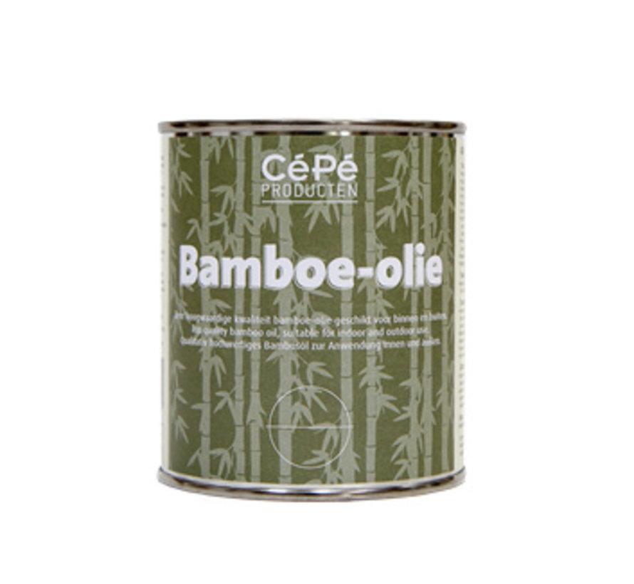 Bamboe Olie