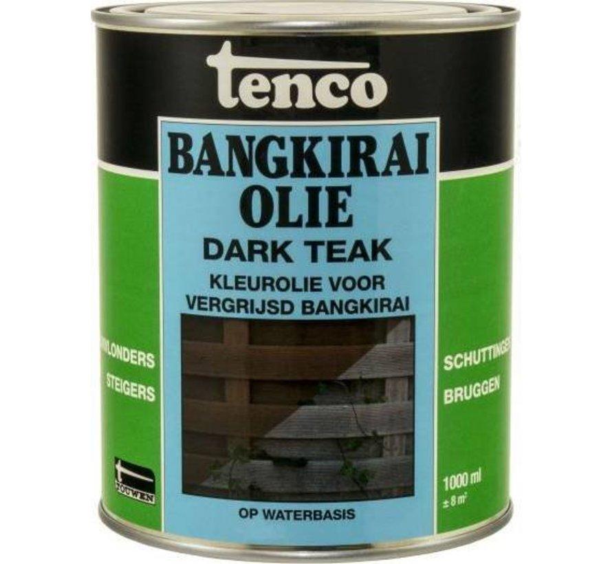 Bangkirai Olie Darkteak