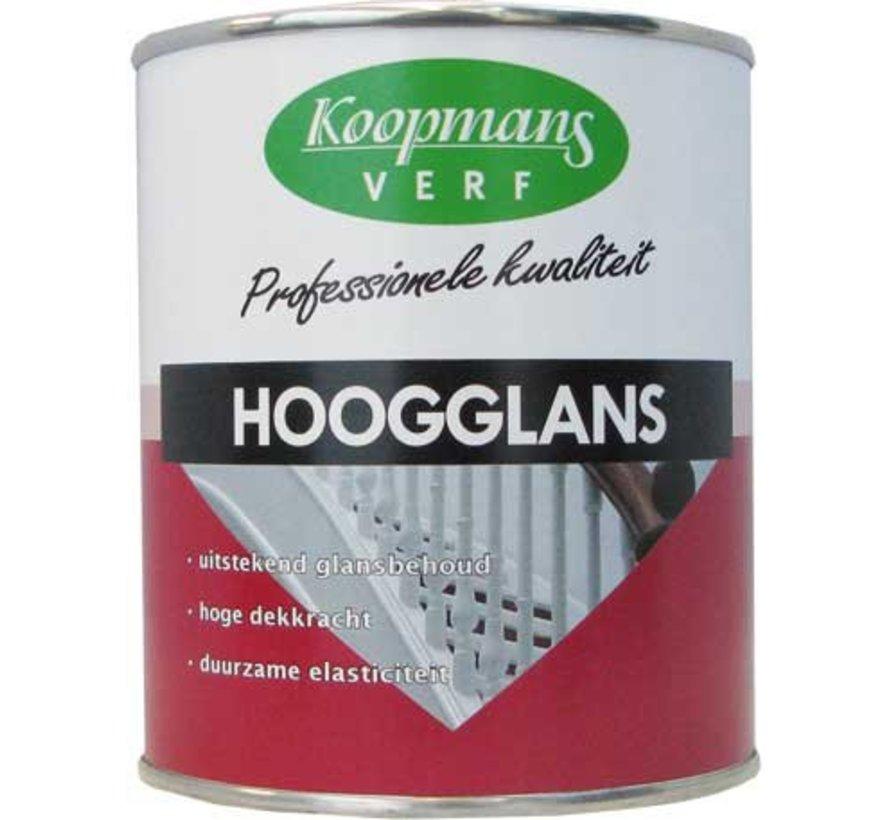 Hoogglans Standaard kleuren