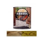 Restol Houtolie Zijdeglans Tuinhout groen