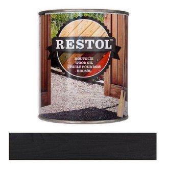 Restol Houtolie Mat Ebbenzwart