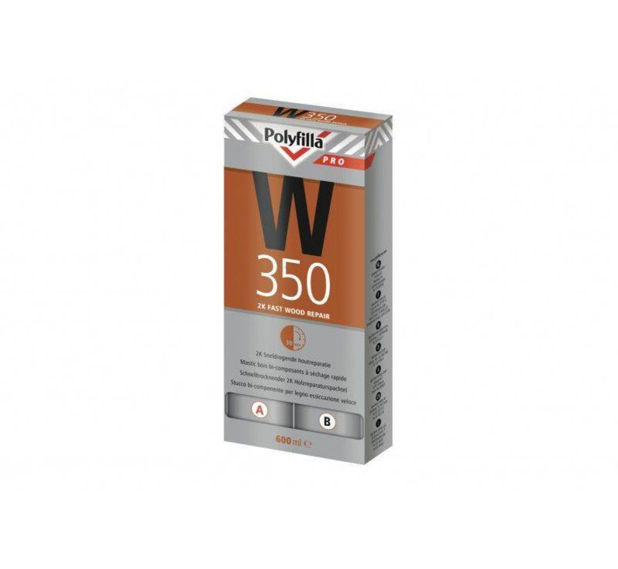 W350 Sneldrogende 2K Houtreparatiepasta